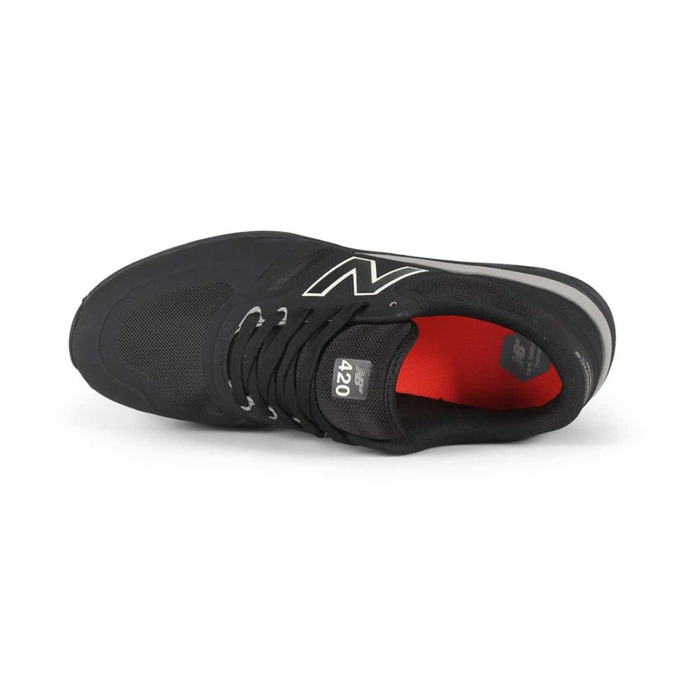 New Balance Numeric NM420 Shoes - Black / Black
