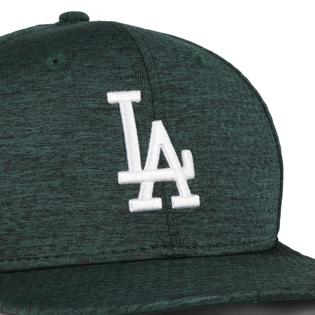 New Era LA Dodgers DrySwitch 9Fifty Cap - Dark Green / Optic White