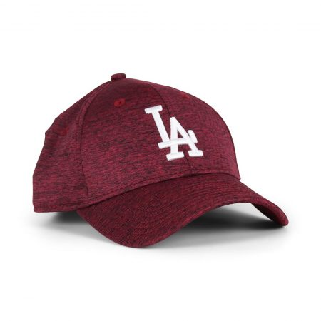 New Era LA Dodgers DrySwitch 9Forty Cap - Cardinal / Optic White
