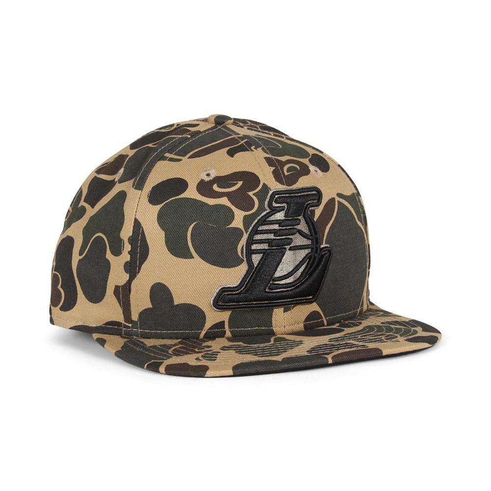 New-Era-LA-Lakers-Camo-9Fifty-Cap-Desert-Camo-Black-01