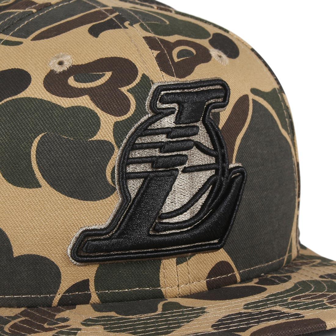 New Era LA Lakers Camo 9Fifty Cap - Desert Camo / Black