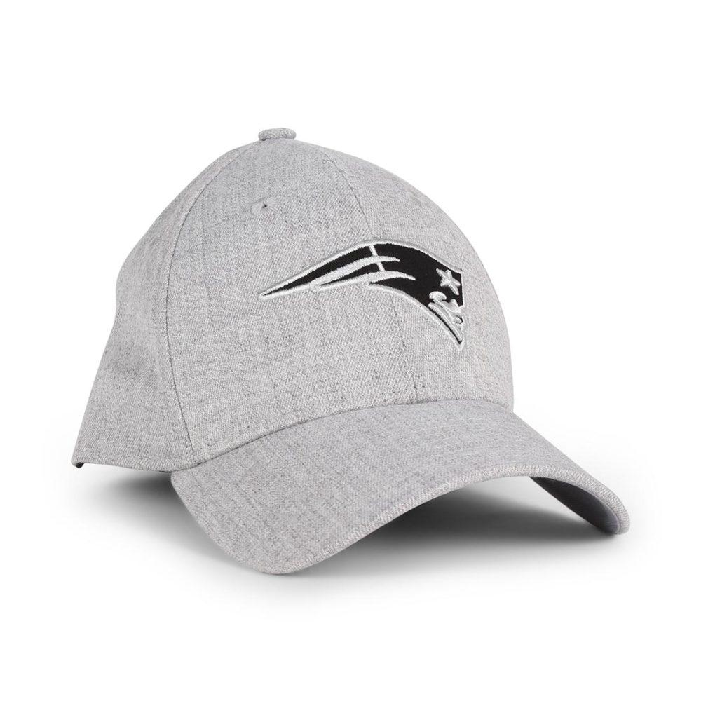 New-Era-NE-Patriots-Heather-Essential-39Thirty-Cap-Grey-Black-01