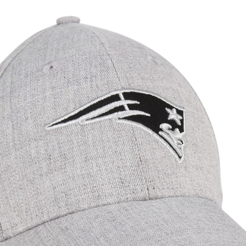 New-Era-NE-Patriots-Heather-Essential-39Thirty-Cap-Grey-Black-02