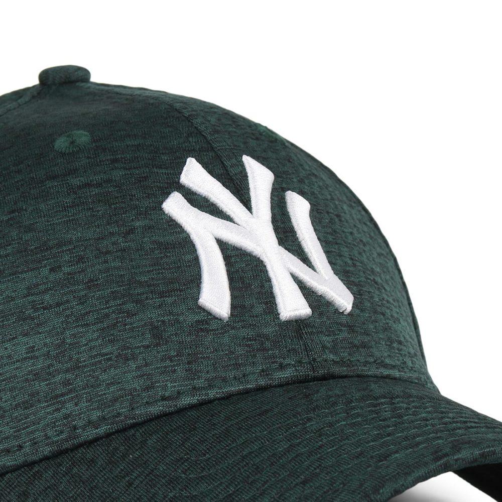 New Era NY Yankees DrySwitch 9Forty Cap - Dark Green / Optic White