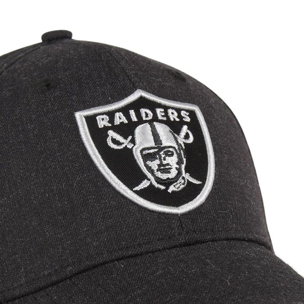 New-Era-Oakland-Raiders-Heather-Essential-39Thirty-Cap-Black-Black-02