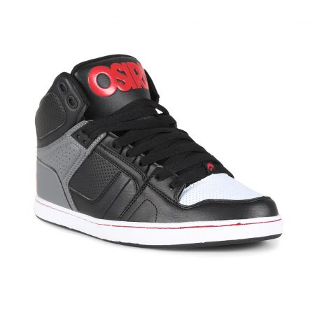 Osiris NYC 83 CLK High Top Shoes - Black / Grey / Red