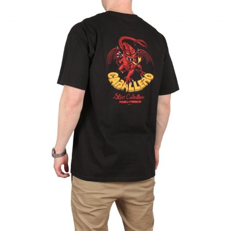 Powell Peralta Cab Dragon II S/S T-Shirt - Black