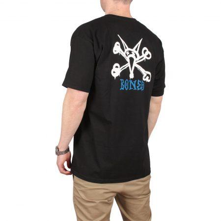 Powell Peralta Rat Bones S/S T-Shirt - Black
