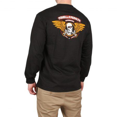 Powell Peralta Winged Ripper L/S T-Shirt - Black