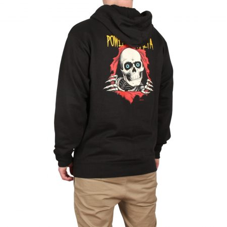 Powell Peralta Ripper Pullover Hoodie - Black