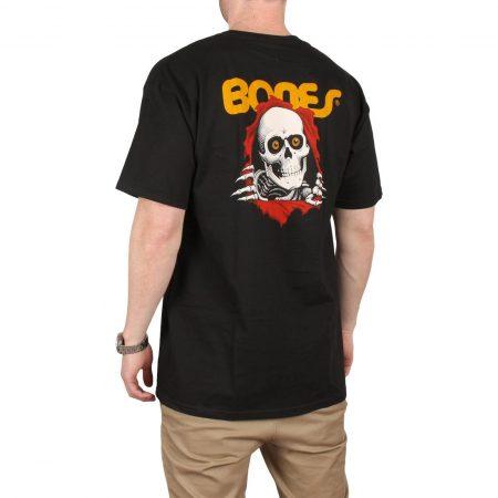 Powell Peralta Ripper S/S T-Shirt - Black