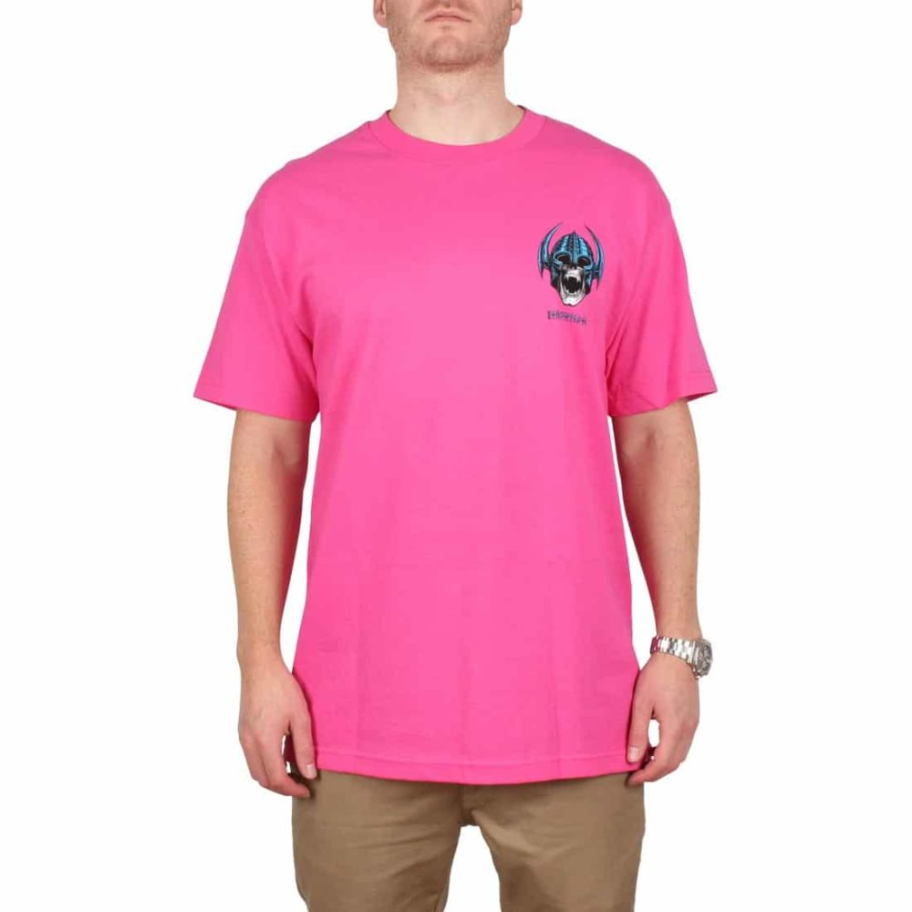Powell-Peralta-Welinder-Nordic-Skull-SS-T-Shirt-Hot-Pink-01