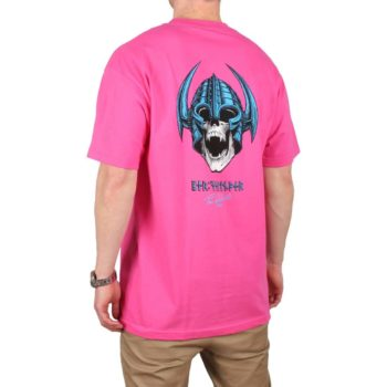 Powell Peralta Welinder Nordic Skull S/S T-Shirt - Hot Pink