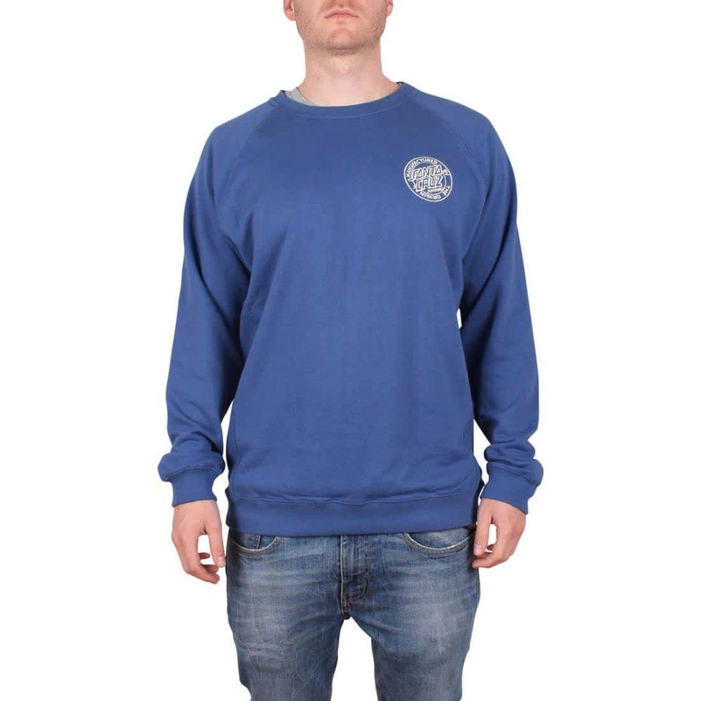 Santa-Cruz-Backhander-Crew-Sweater-Blue-01