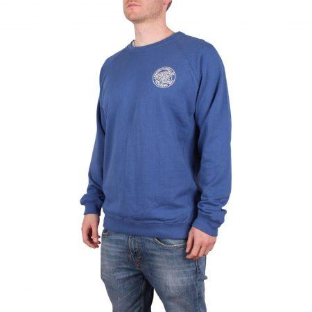 Santa Cruz Backhander Crew Sweater - Blue