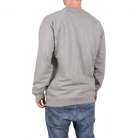 Santa Cruz Backhander Crew Sweater - Dark Heather
