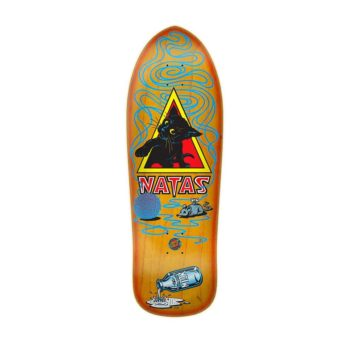 Santa Cruz Skateboards SMA Natas Kitten Reissue Deck - Sunburst Stain