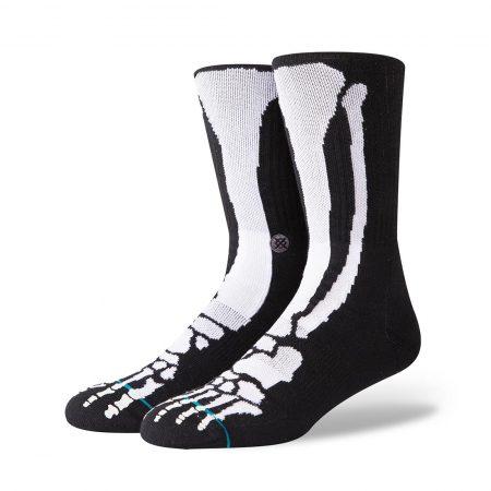 Stance Bones 2 Socks - Black
