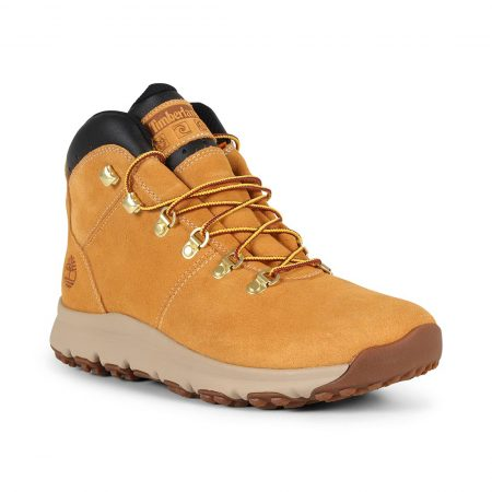 Timberland World Hiker Mid Boot – Wheat Suede