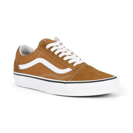 Vans Old Skool Skate Shoes - Cumin / True White