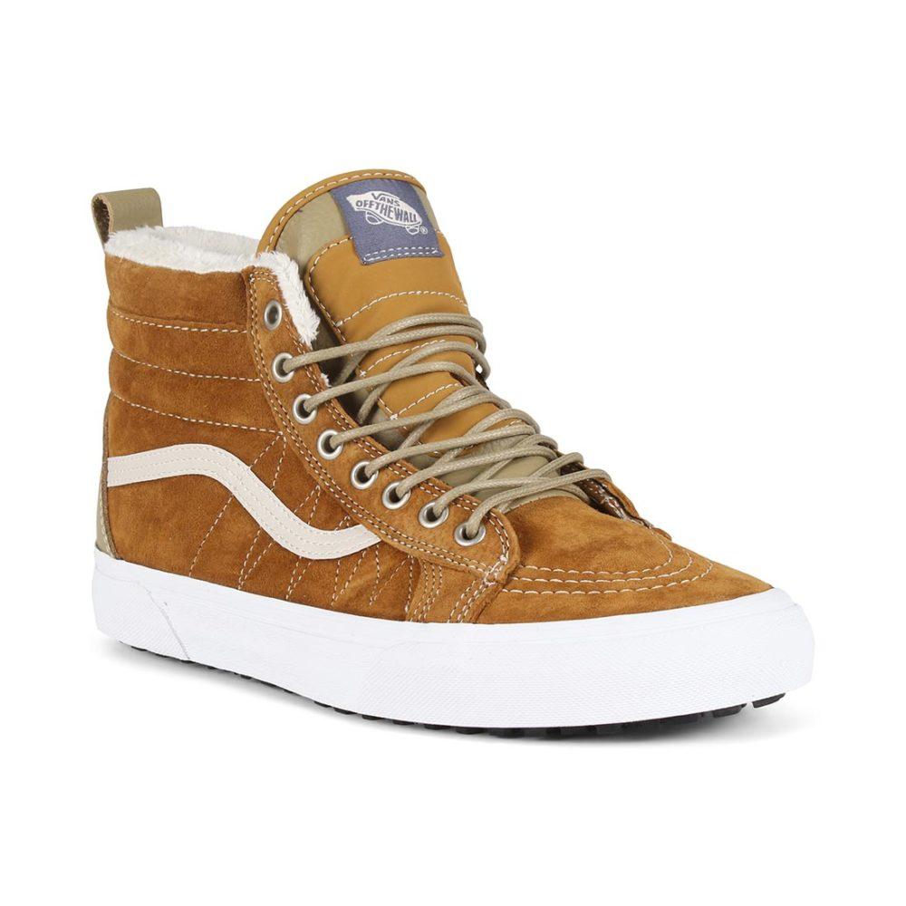 360259a2f4 Vans Sk8 Hi MTE Shoes - Cumin   Slate Green