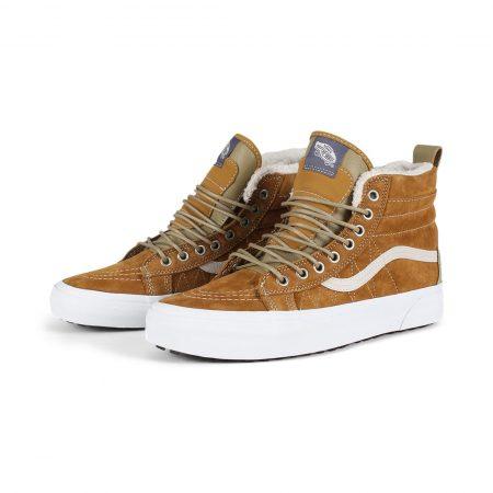 Vans Sk8 Hi MTE Shoes - Cumin / Slate Green
