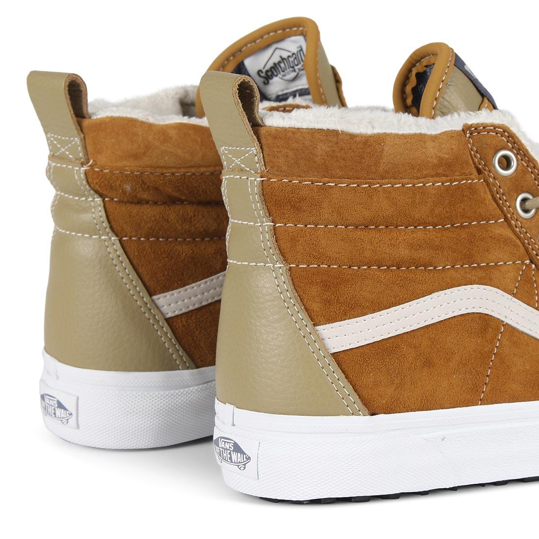 6e466170c1cbeb Vans Sk8 Hi MTE Shoes - Cumin   Slate Green