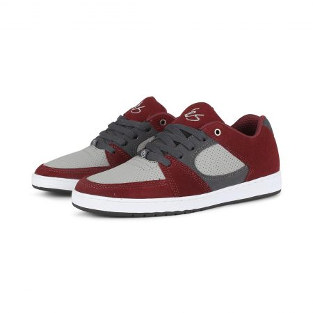 eS Accel Slim Shoes - Red / Grey