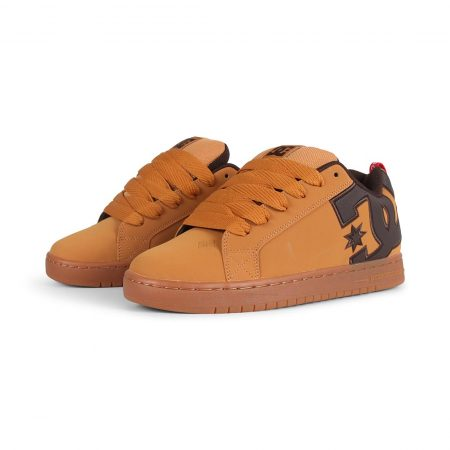 DC Shoes Court Graffik SE - Wheat / Turkish Coffee