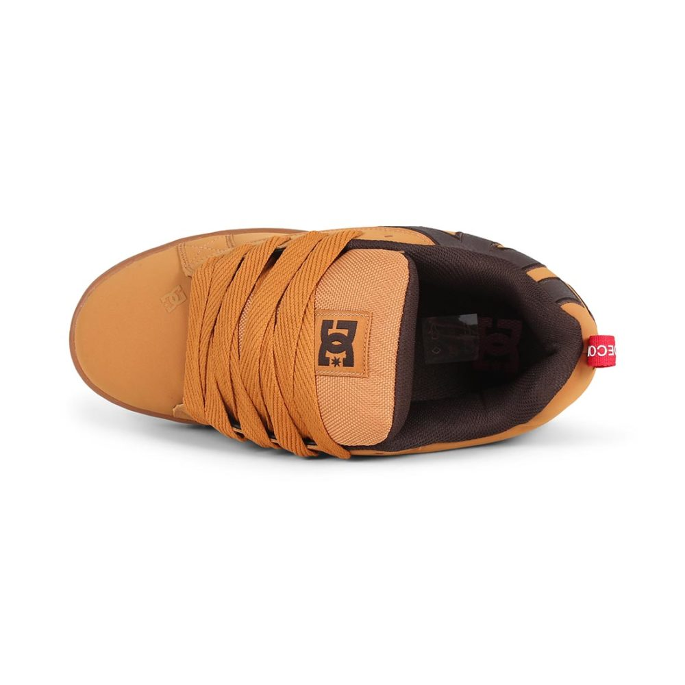 DC Shoes Court Graffik SE - Wheat / Turkish Coffee