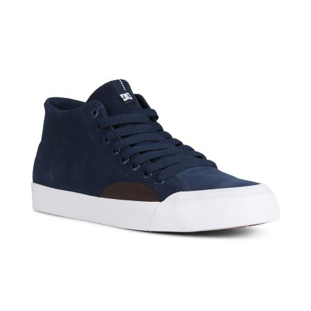 DC Shoes Evan Smith Hi Zero S High Top - Navy / Dark Chocolate