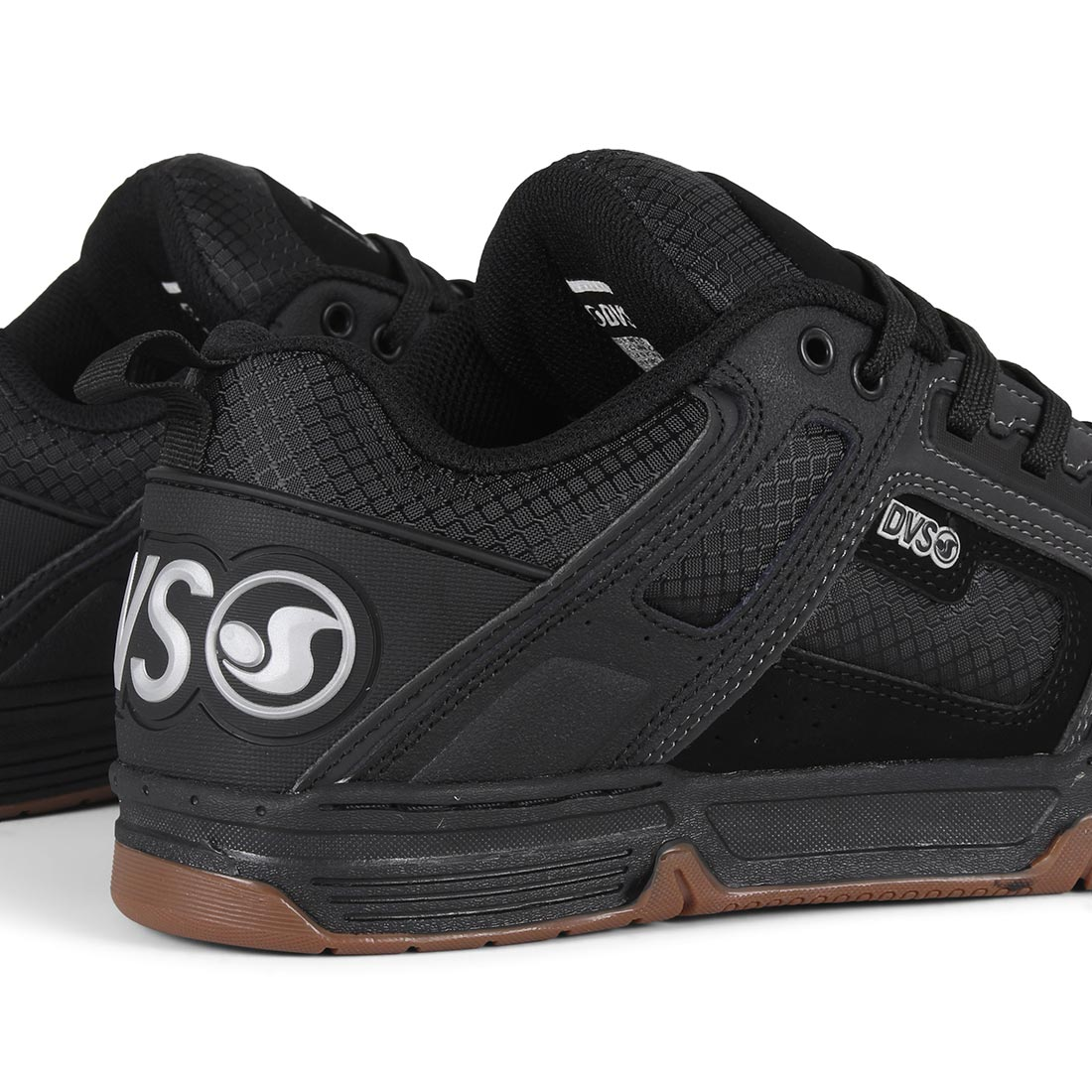 DVS Comanche Shoes - Black / White / Gum / Flash Pack