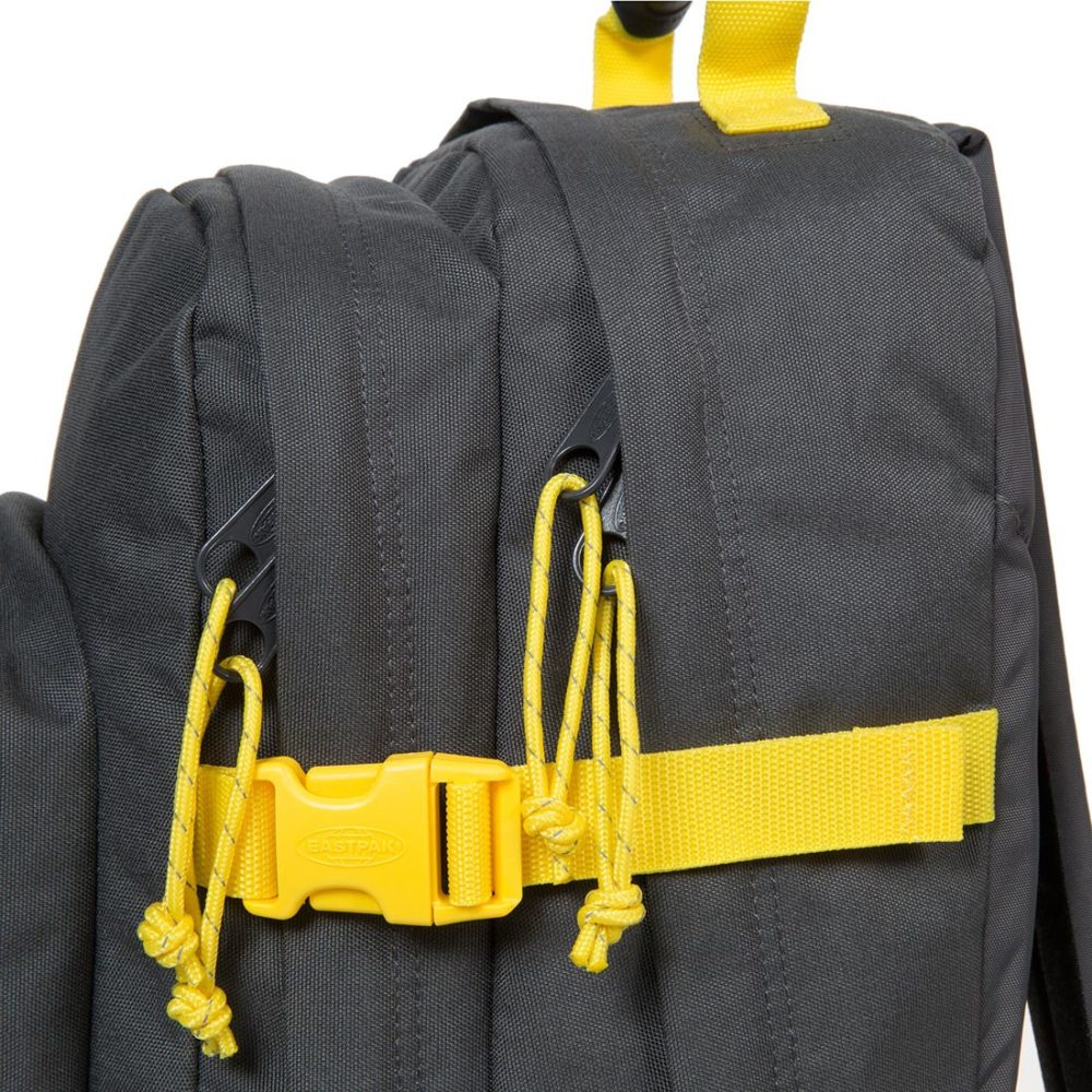 Eastpak-Provider-33L-Backpack-Grey-Yellow-01