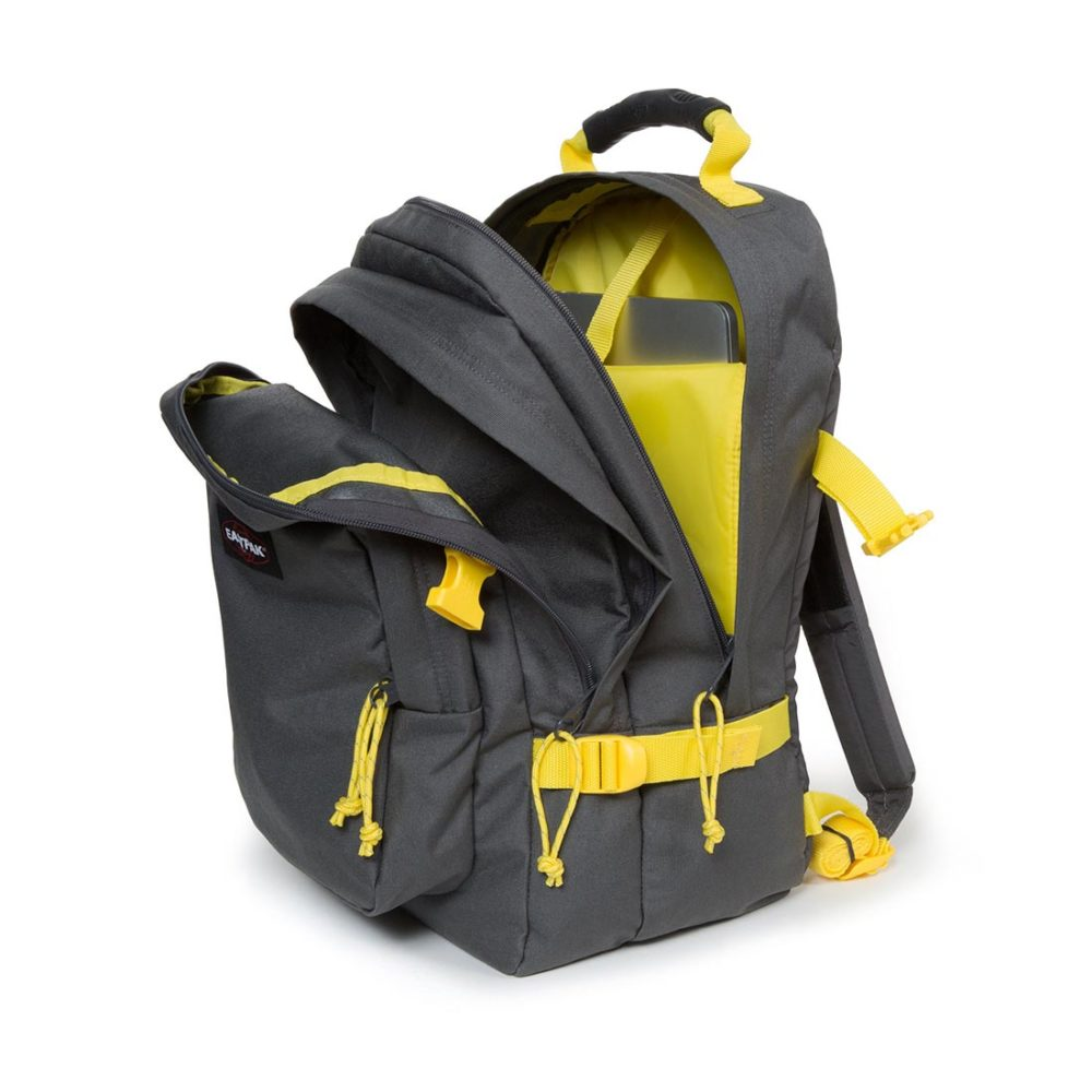 Eastpak-Provider-33L-Backpack-Grey-Yellow-03
