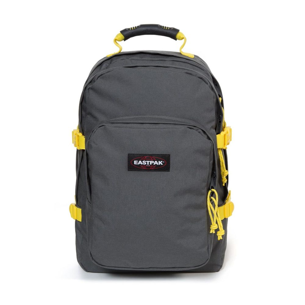 Eastpak-Provider-33L-Backpack-Grey-Yellow-04