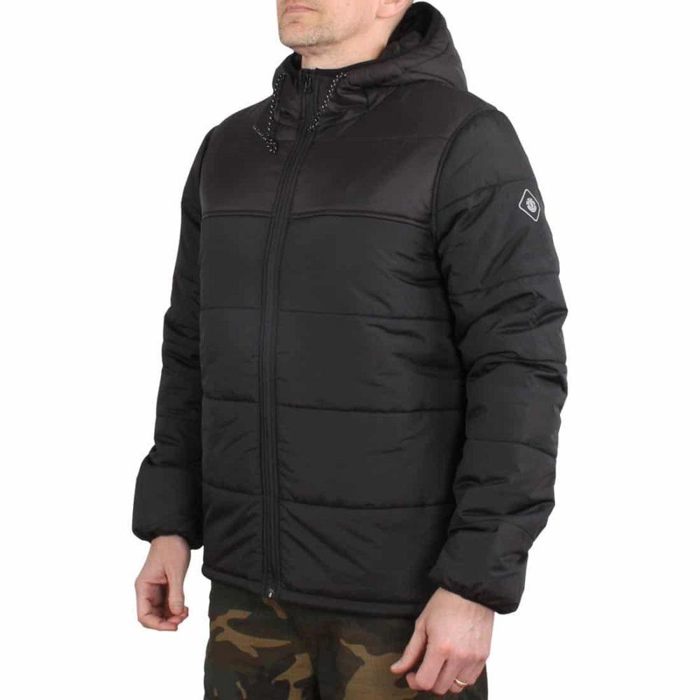 Element Alder Heavy Puff Travel Well Jacket - Flint Black