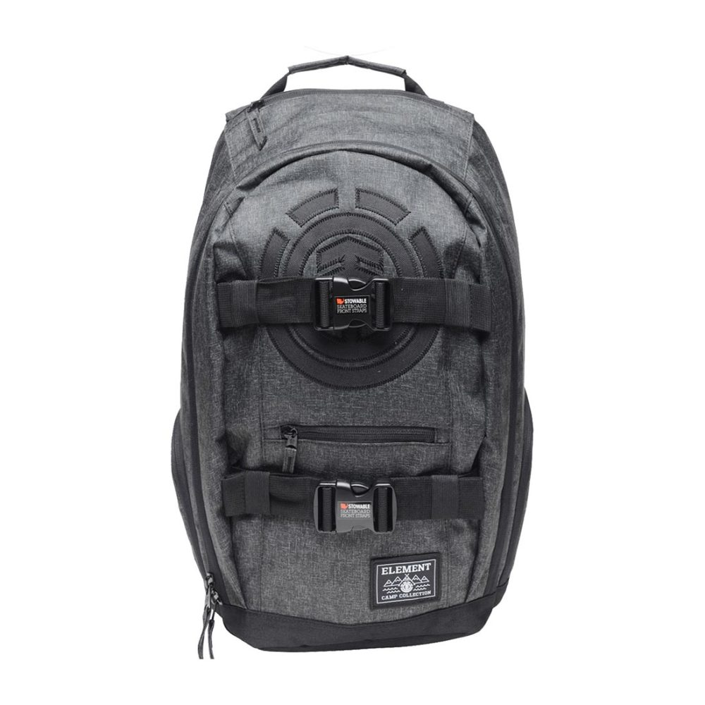 Element-Mohave-30L-Backpack-AW18-Black-Grid-Heather-01