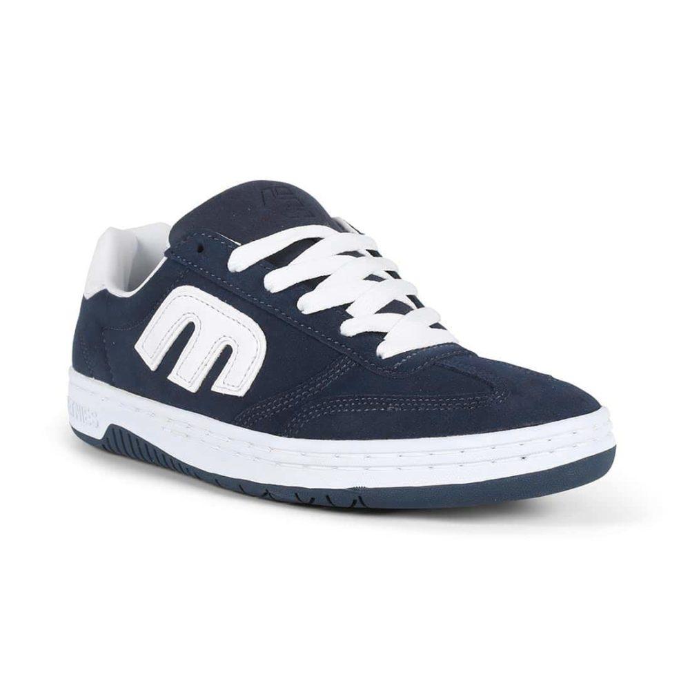 Etnies Lo-Cut Shoes - Navy / White