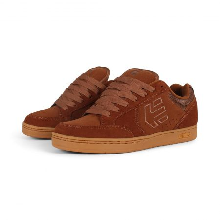 Etnies Swivel Shoes - Brown / Brown / Gum