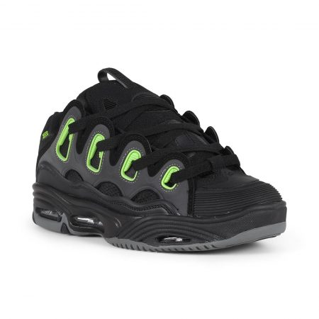 Osiris D3 2001 Shoes - Black / Green / Charcoal