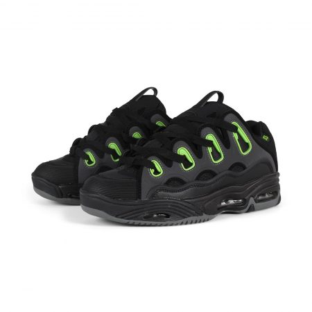 Osiris D3 2001 Shoes - Black / Green / Charcoal
