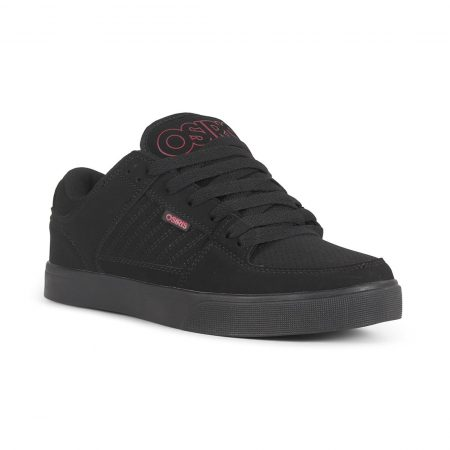Osiris Protocol Shoes - Black / Red / Black