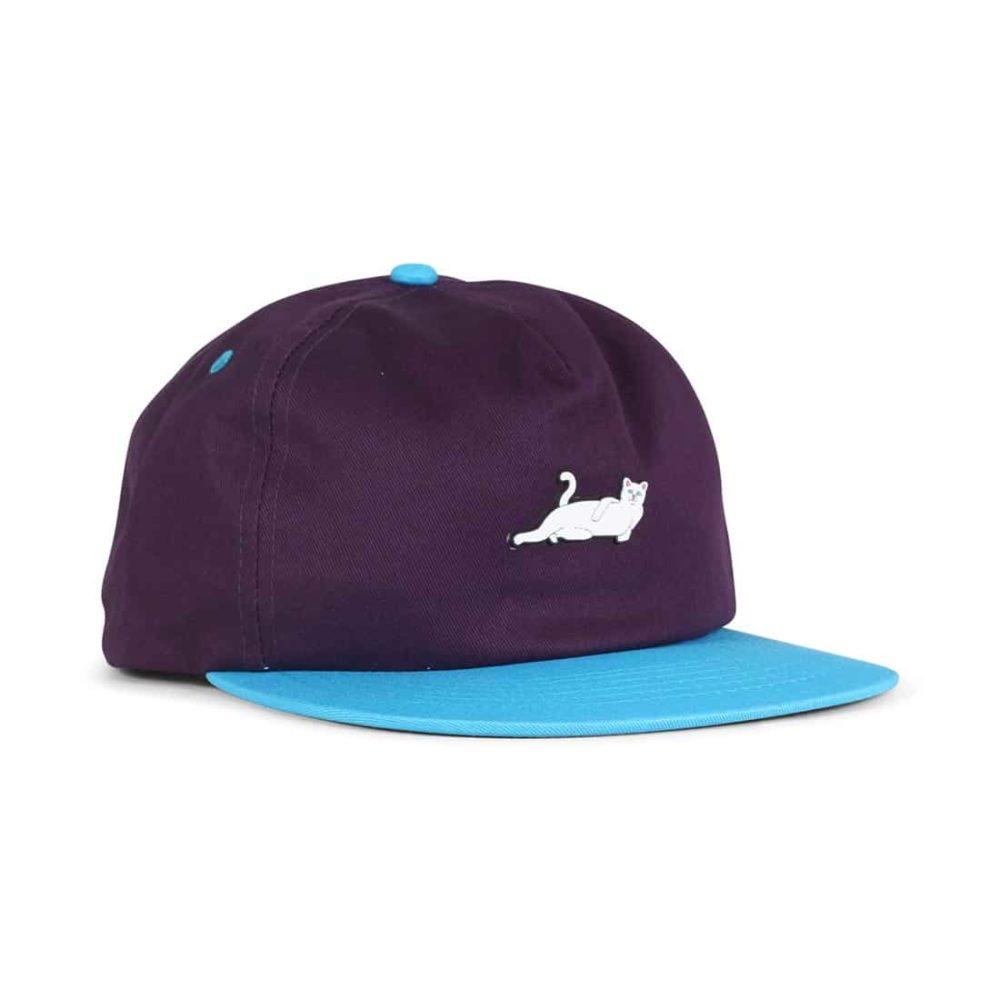 RIPNDIP-Castanza-5 Panel-Snapback-Hat-Navy-Lavender-Blue-01