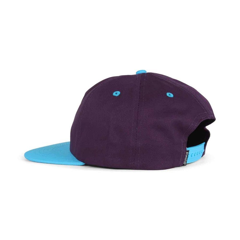 RIPNDIP-Castanza-5 Panel-Snapback-Hat-Navy-Lavender-Blue-03