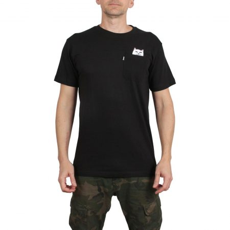 RIPNDIP Lord Nermal S/S Pocket T-Shirt - Black