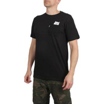 RIPNDIP Lord Nermal S/S Pocket T-Shirt - Black