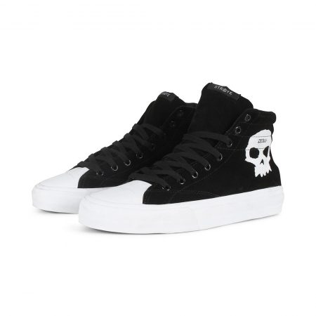 Straye Venice Zero High Top Shoes Black Suede