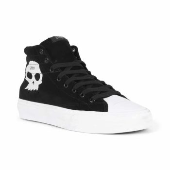 Straye Venice Zero High Top Shoes Black Suede