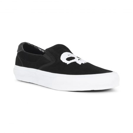 Straye Ventura Zero Slip On Shoes Black Suede