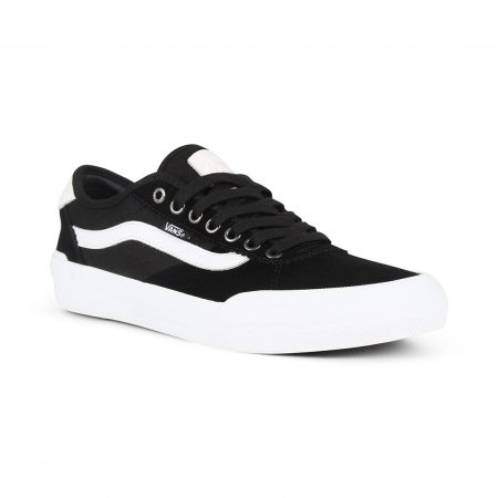 Vans Chima Pro 2 Skate Shoes - Black / White